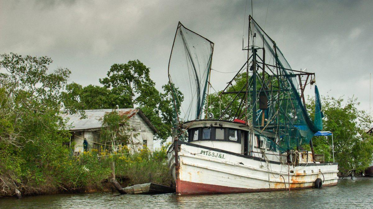 Shrimp Boat on LA bayou.